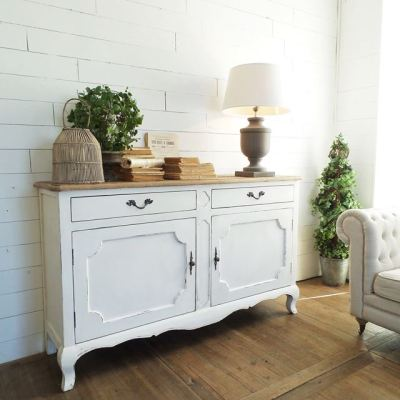 Credenza NEW VINTAGE WHITE – TAGS | 48.2743