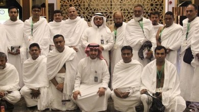 Photo of وصول 1279 حاجاً من ضيوف خادم الحرمين الشريفين إلى مكة المكرمة