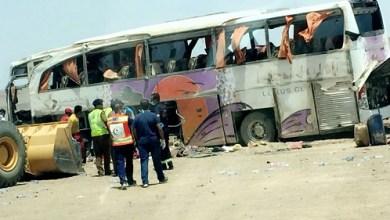Photo of مصرع شخصين وإصابة 45 في حادث مروري على طريق المدينة القصيم