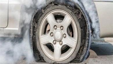 صورة كيف تتصرف عند انفجار الإطار أثناء القيادة؟.. إليك 7 نصائح