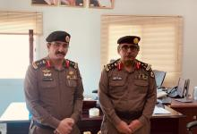 Photo of مدير شرطة الجبيل يقلد الزهراني رتبة عقيد