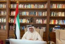 """Photo of قرقاش: ردود الفعل على الإعلان الثلاثي """"مشجعة"""""""