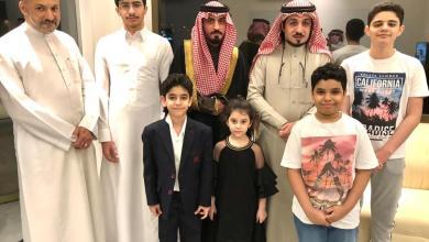 """صورة عائلة """"الدبور"""" تحتفل بزفاف ابنها """"ماهر"""" بالدمام"""