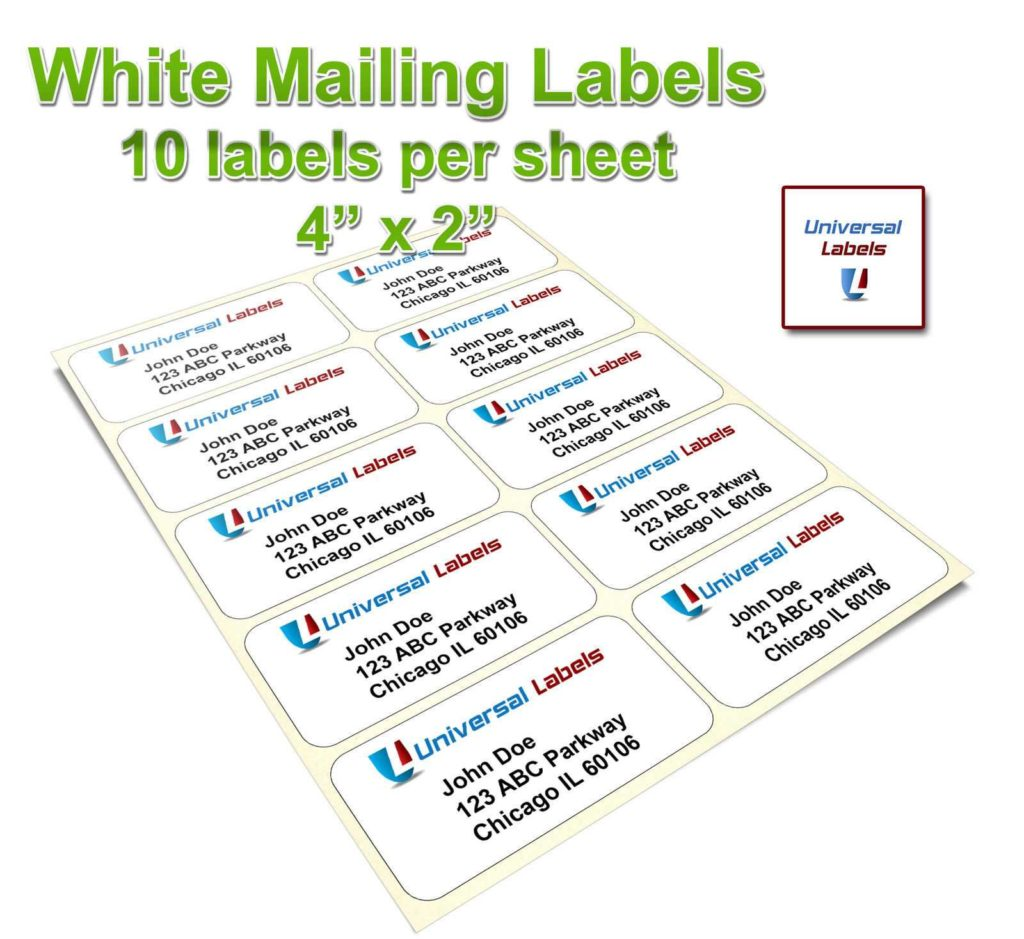 4 Labels Per Sheet Template and 100 4 Labels Per Sheet Template Labels Sticky Labels U0026