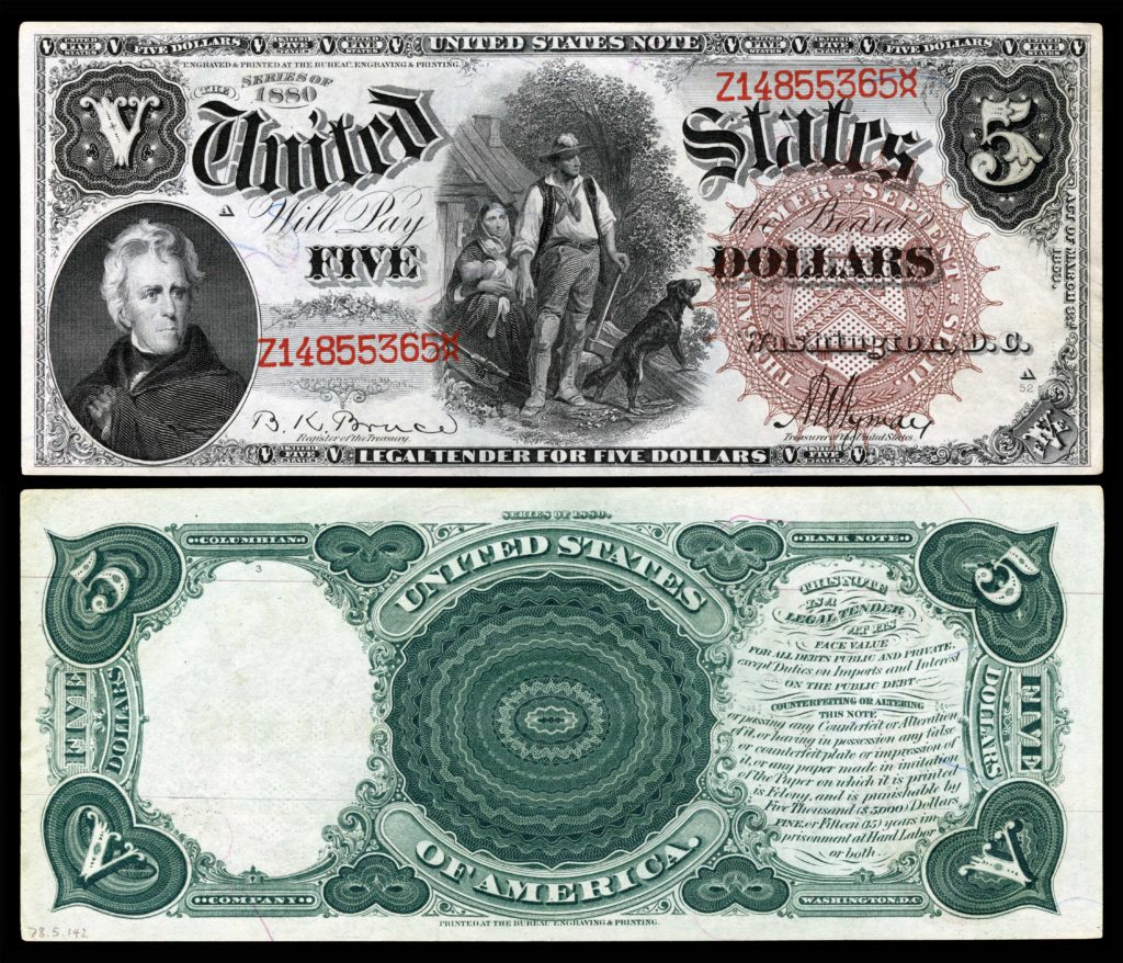 5 Dollar Bill Template and United States Five Dollar Bill Wikipedia