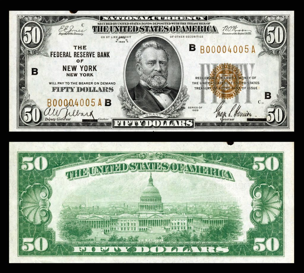50 Dollar Bill Template and United States Fifty Dollar Bill Wikipedia