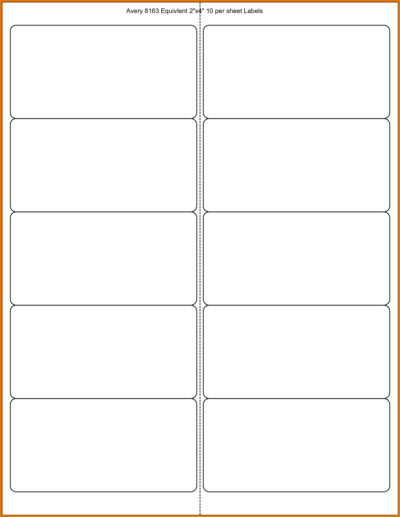 6 Labels Per Sheet Template and 6 Avery Label Template Scope Of Work Template