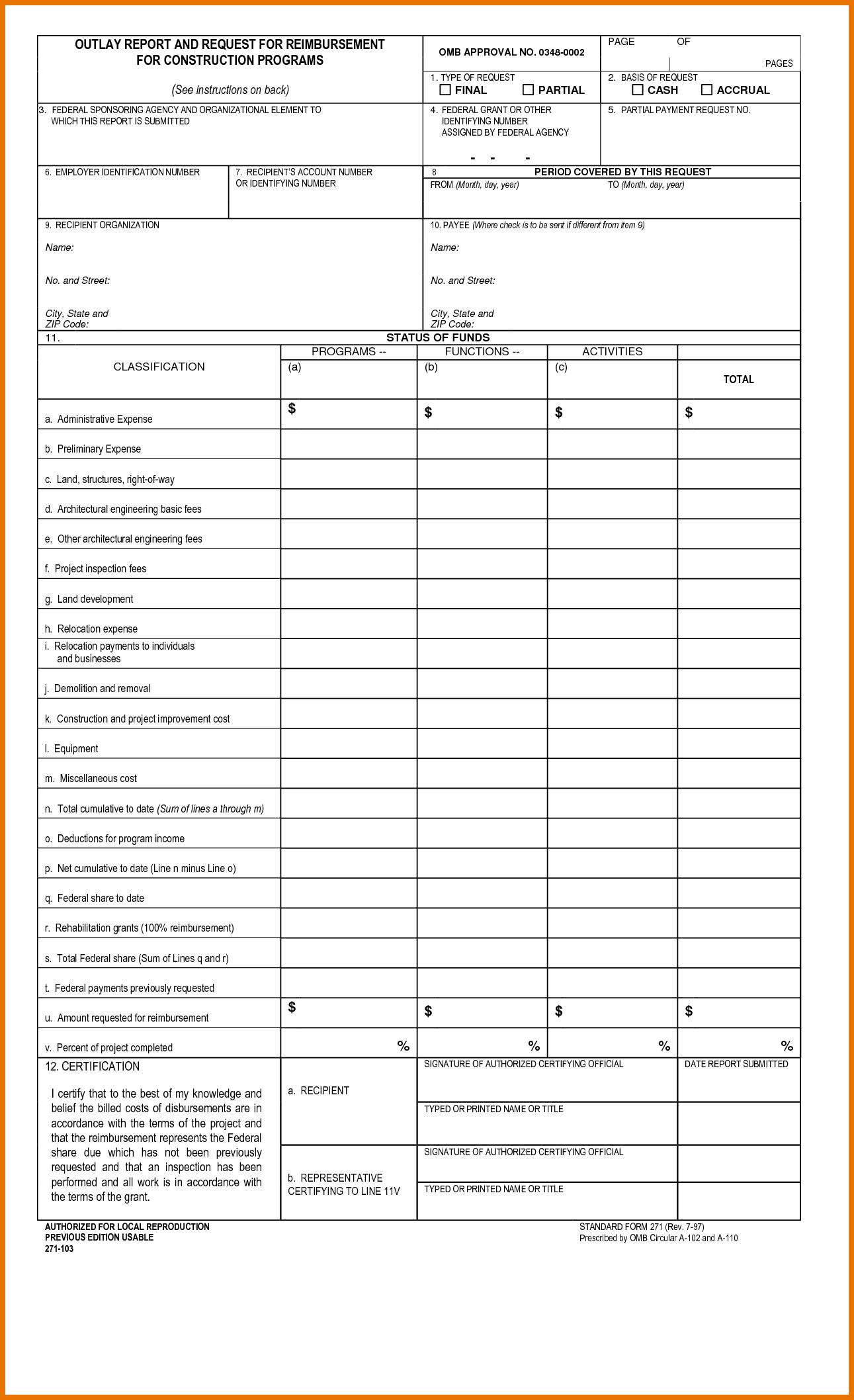 Auto Body Repair Estimate Template and 4 Construction Estimate form Itinerary Template Sample