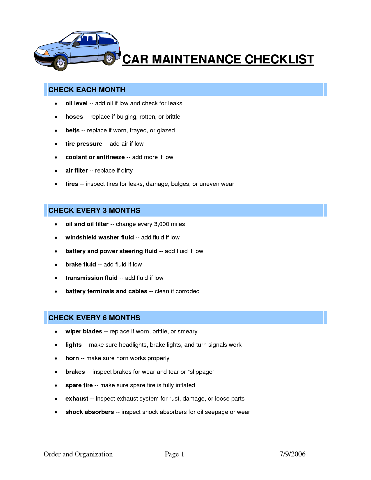 Auto Maintenance Schedule Spreadsheet and Auto Maintenance Spreadsheet Laobingkaisuo
