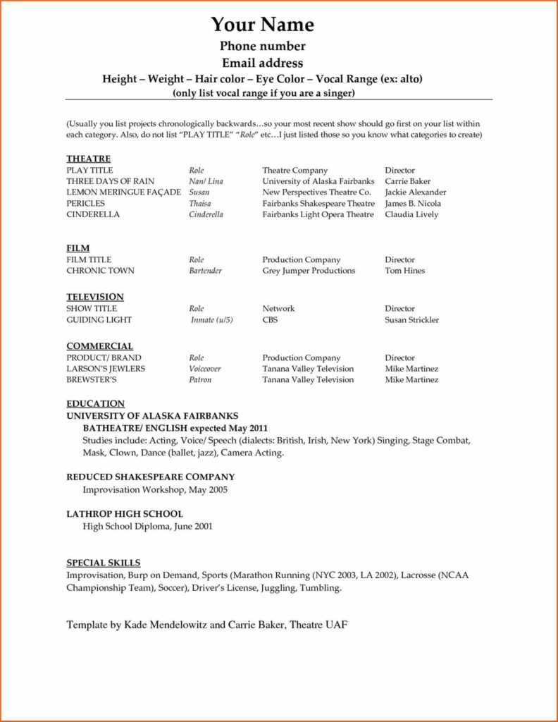 Bill List Template and Birthday Invite Word Checklist Template Word 2007 Template
