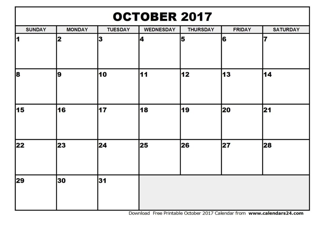 Bill Pay Calendar Template Free and October 2017 Calendar Template Weekly Calendar Template