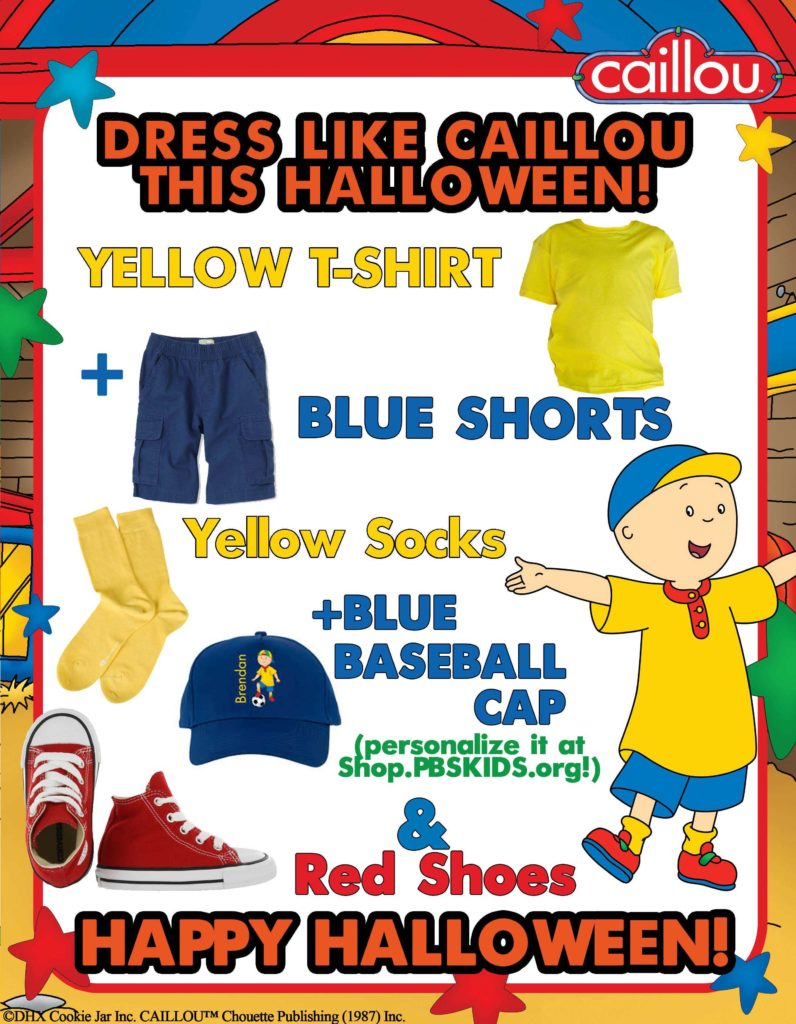 Burglar Bill Mask Template and Looking to Dress Like Caillou This Halloween Check Out This