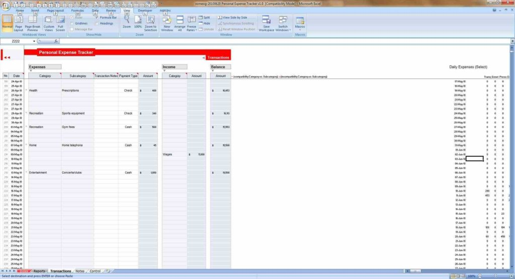 Business Inventory Spreadsheet and Campaign Tracking Sheet Business forms and Templates Mileage Log
