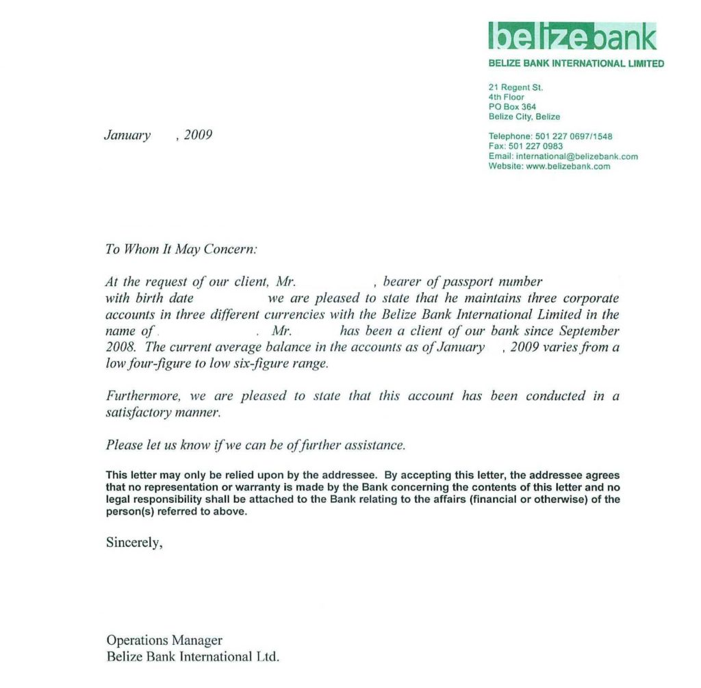 Ceo Report to Board Of Directors Template and Sample Bank Reference Lettersreference Letter Examples Business