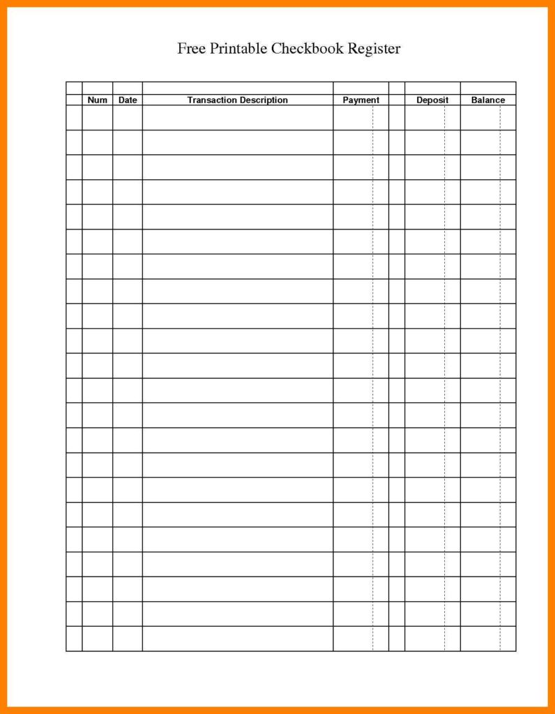 Checking Account Worksheets for Students and Checkbook Worksheets for Students and Check Writing Practice