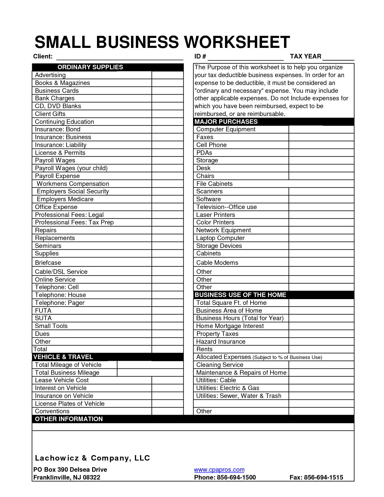 Clothing Donation Tax Deduction Worksheet and Collection Of Tax Deductions Worksheet Cockpito