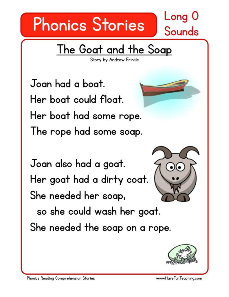 Comprehension Worksheets for Grade 1 Free and This Reading Prehension Worksheet the Goat and the soap is