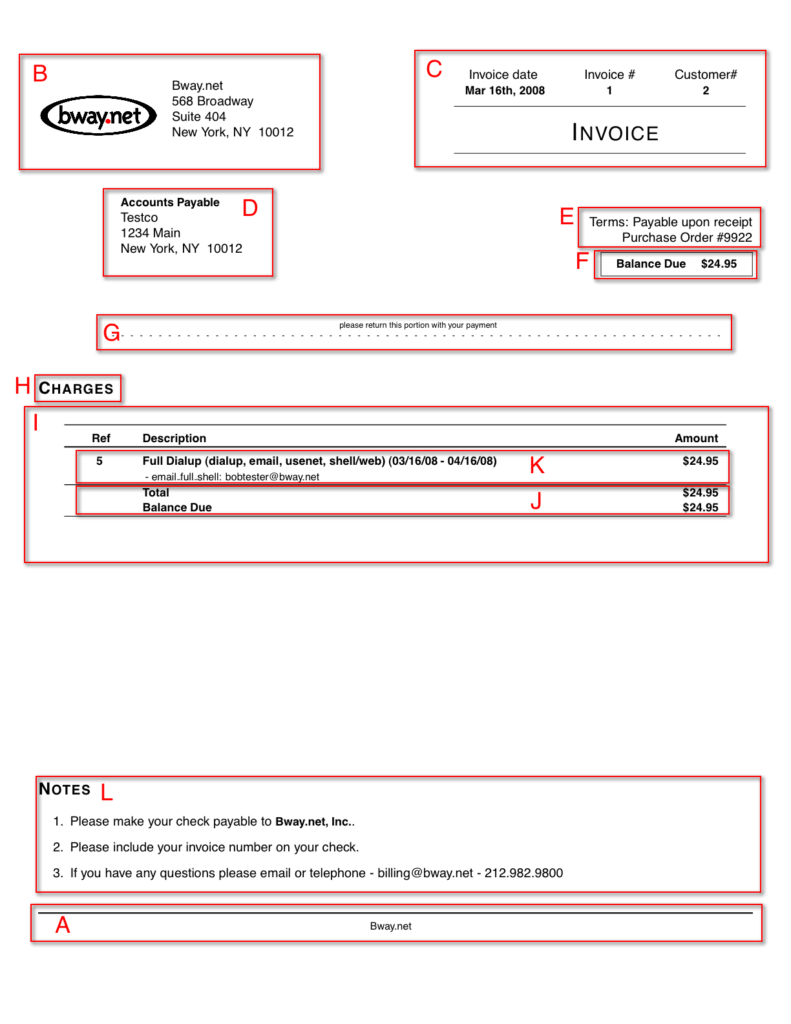 Courier Invoice Template and Freeside User forum View topic Altering Typeset Invoice Feedback