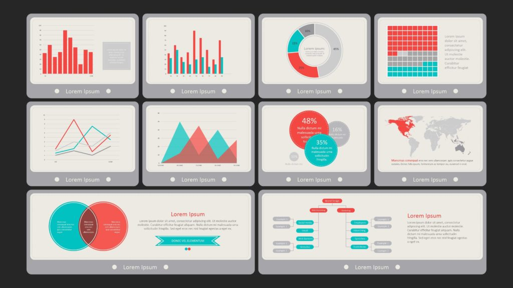 Dashboards In Excel Templates and Ppt Dashboard Template Flat Vintage Dashboard Scorecard Examples