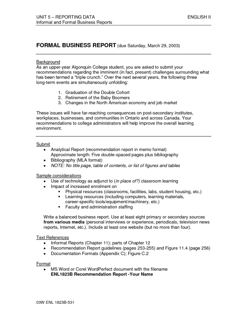Data Analysis Report Template and Data Analysis Report Pdf Analytical Report Template Data