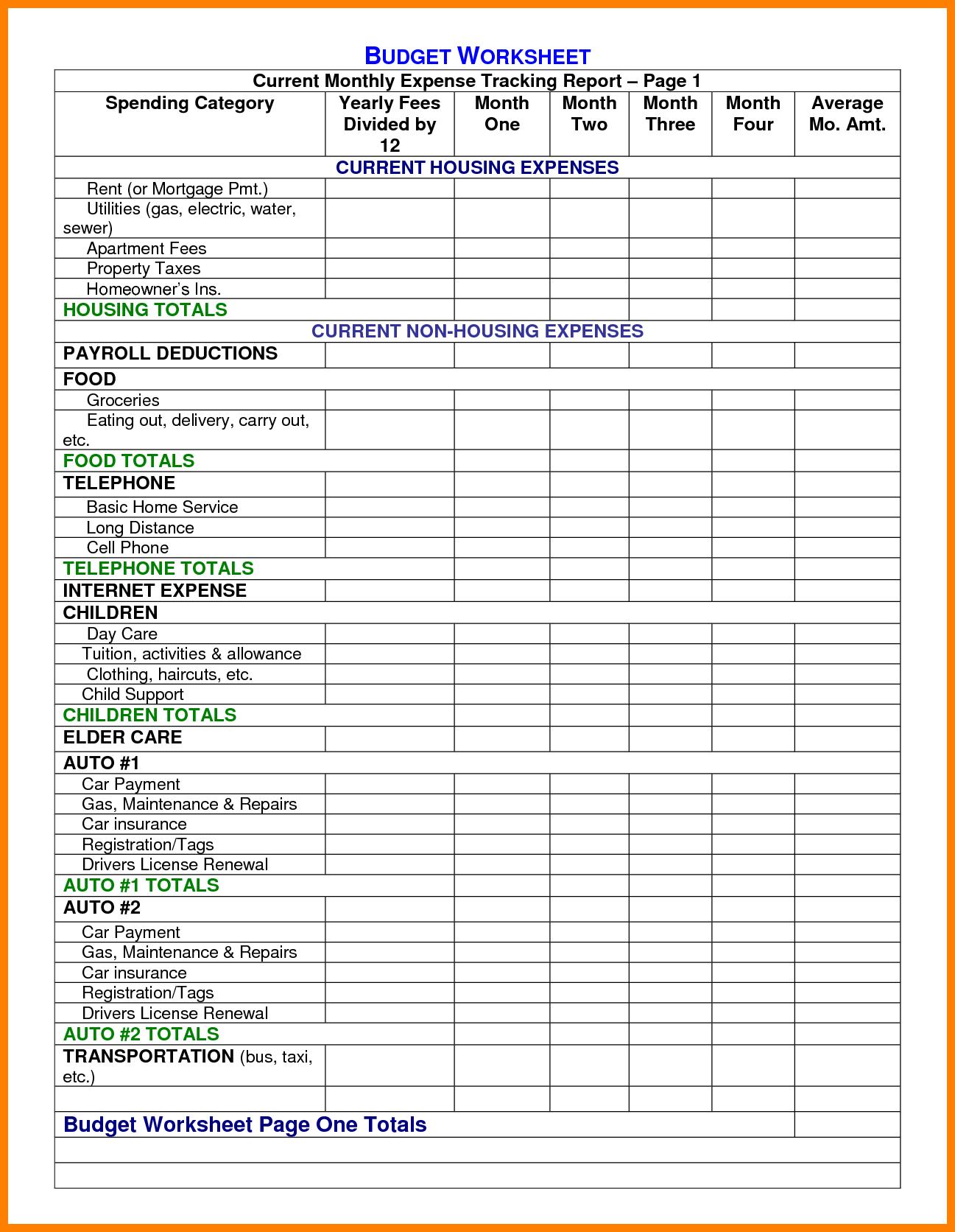 Earthwork Estimating Spreadsheet and Construction Expenses Spreadsheet Laobingkaisuo