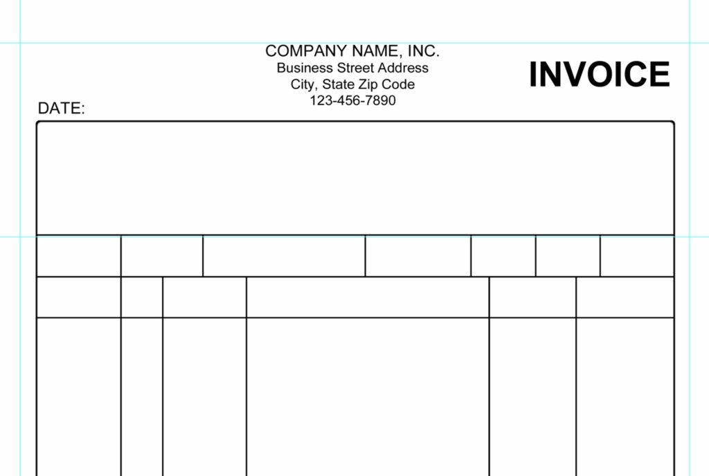 Empty Invoice Template and Invoice Template to Edit Rabitah
