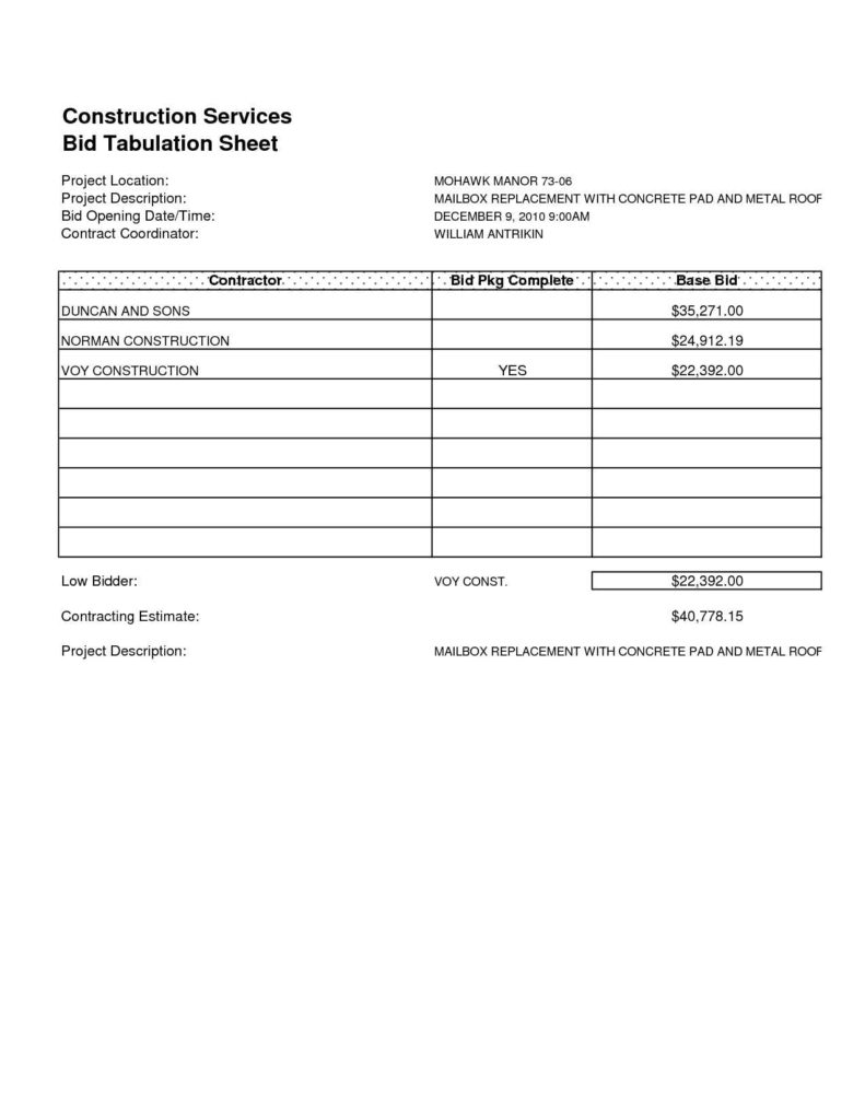 Estimate Sheet Templates Free and Roofing Estimate form Free Printable Invitation Templates for Kids