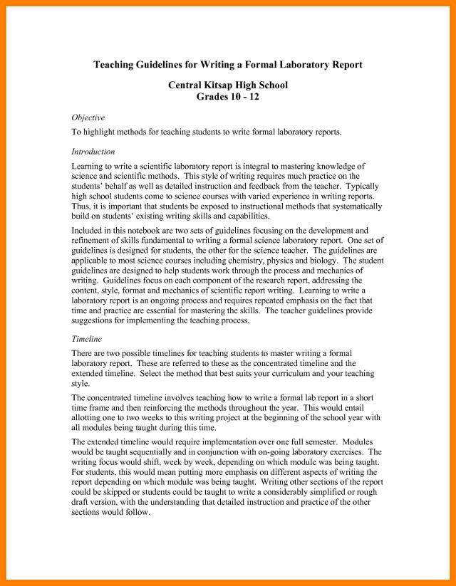 Writing Progress Report - Progress Report: How To Write, Structure