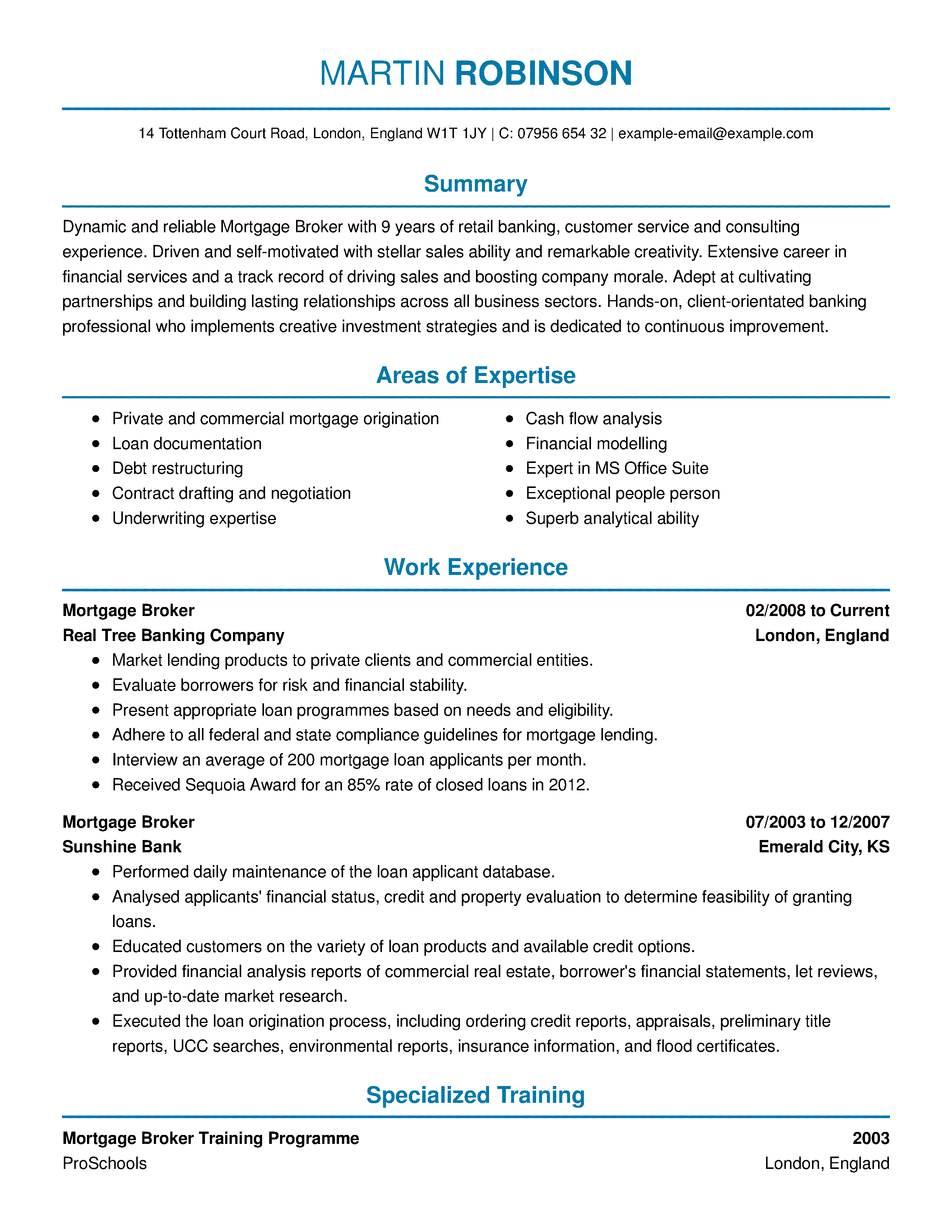 Examples Of Credit Reports and Amazing Real Estate Resume Examples to You Hired Livecareer
