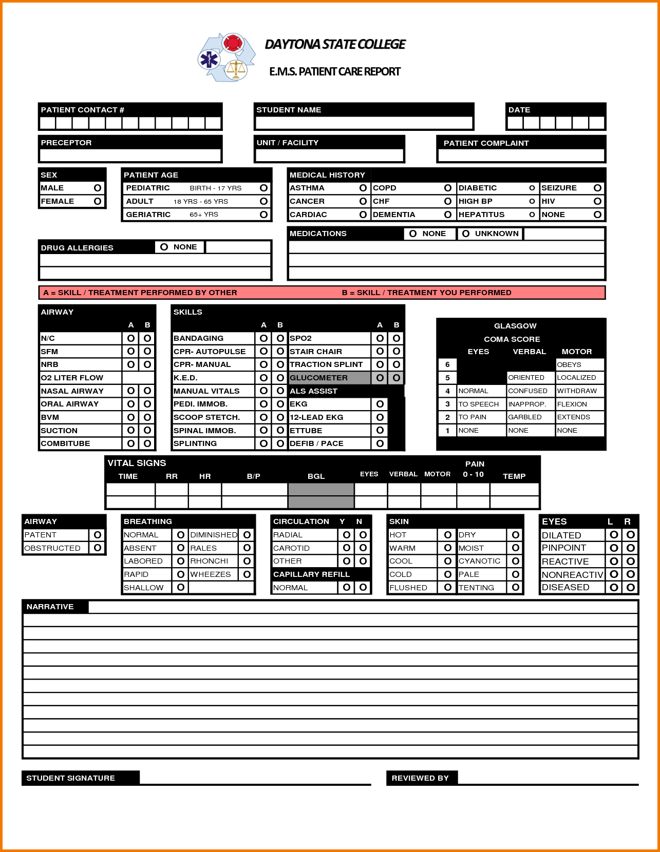 Expense Account Template and 4 Patient Care Report Template Expense Report