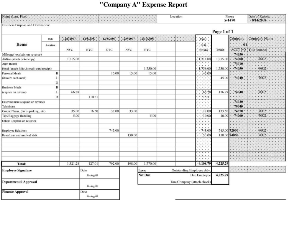 Farm Accounting Spreadsheet and Accounts Spreadsheet Template Virtren