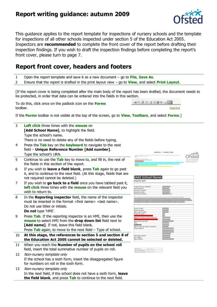 Field Inspection Report Template and Home Inspection Report Template Bespoke Wellness