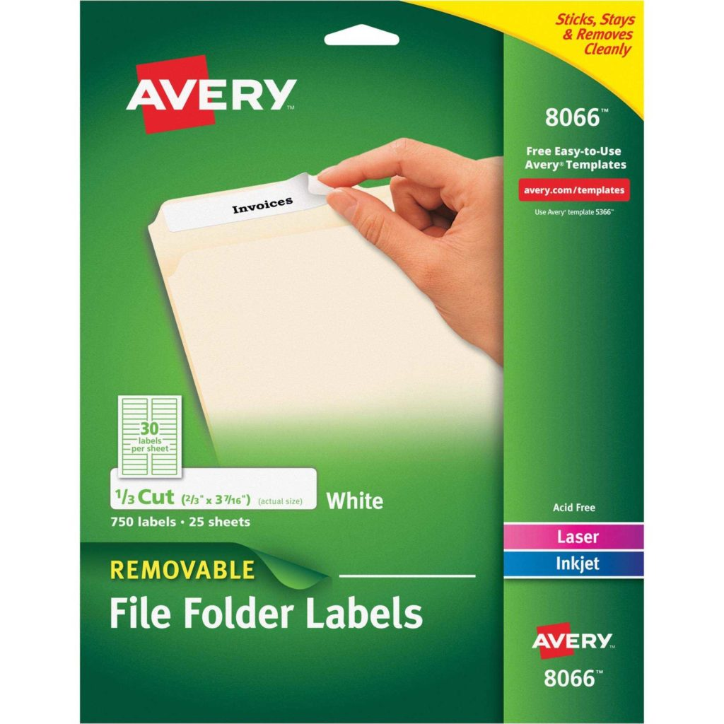 File Folder Labels Templates 30 Per Sheet and File Folder Labels Templates for Small Sheets Macolabels