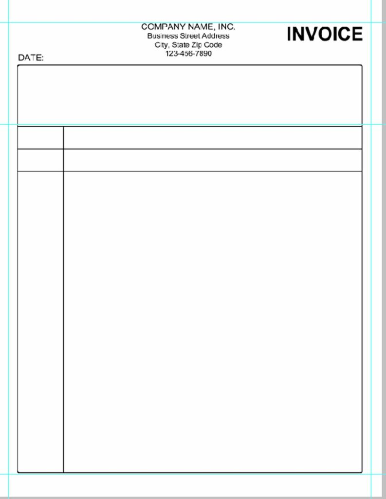 Fillable Invoice Template Pdf and Blank Invoice Full Size Firmsinjafo