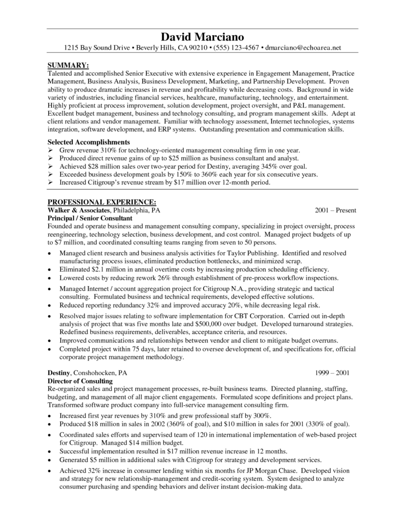 Financial Advisor Vision Statement Examples and Financial Advisor Resume Resume for Your Job Application