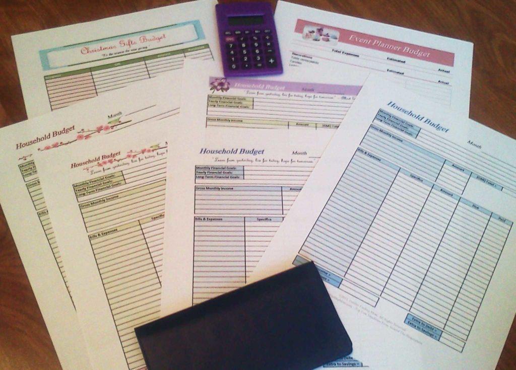 Financial Budget Worksheet and Free Printable Bud Worksheets or Print