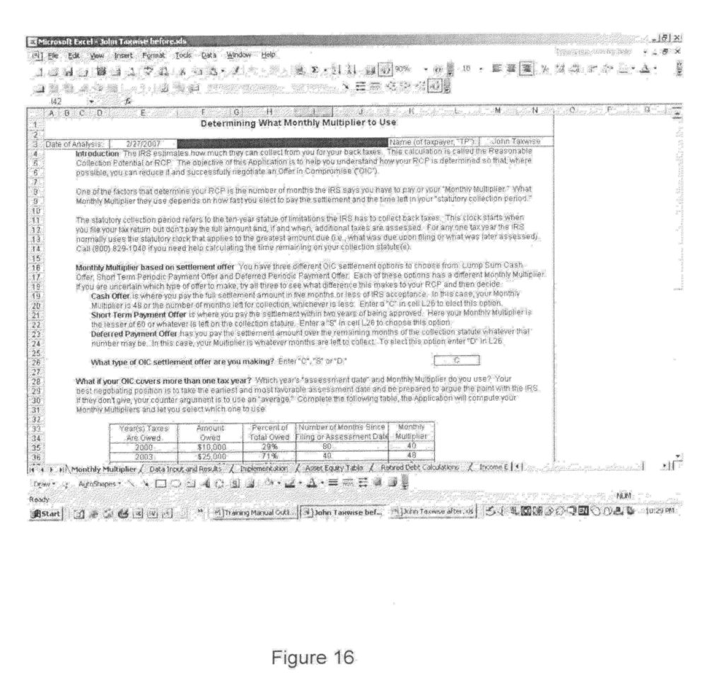 Form 433 A Worksheet and Tax form 433 A Worksheet Cehaer Spreadsheet