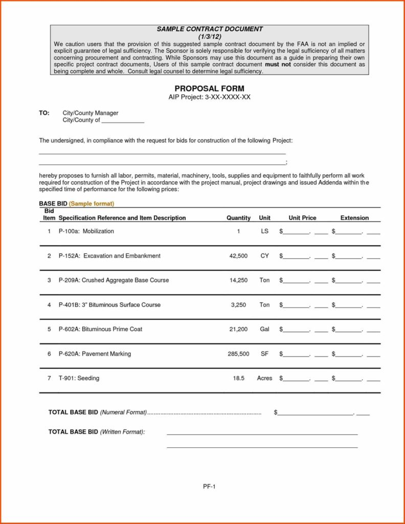 Free Construction Estimate forms Templates and Template Estimate Blank Job An Inquiry Letter Job Construction Bid