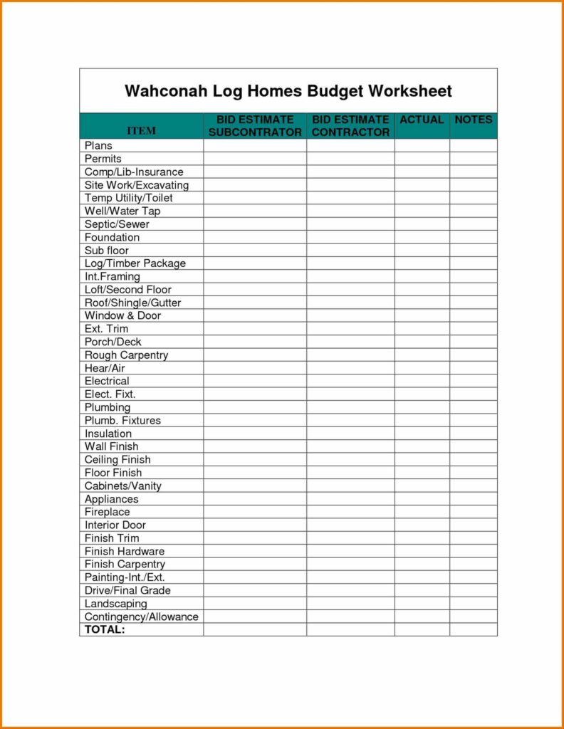 Free Home Budget Spreadsheet and Haisume Free Printable Monthly Worksheet Personal Weeklymonthly