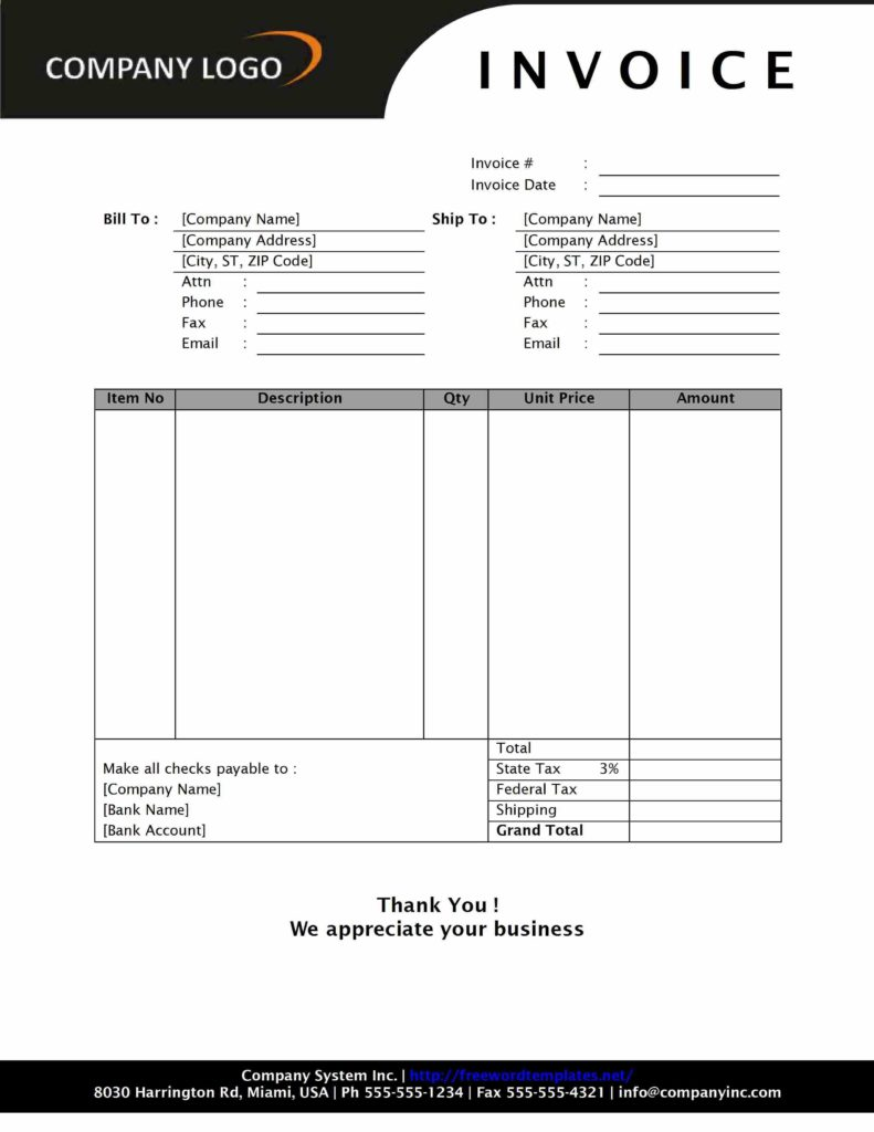 Free Invoice Template Downloads and Simple Sales Invoice Sd1 Style Word Templates Free Word Sales