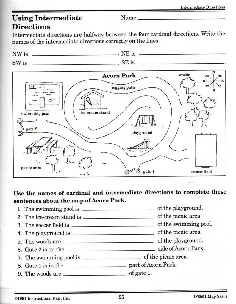Free Life Skills Worksheets and Intermediate Directions Worksheet Graphic Design Logos