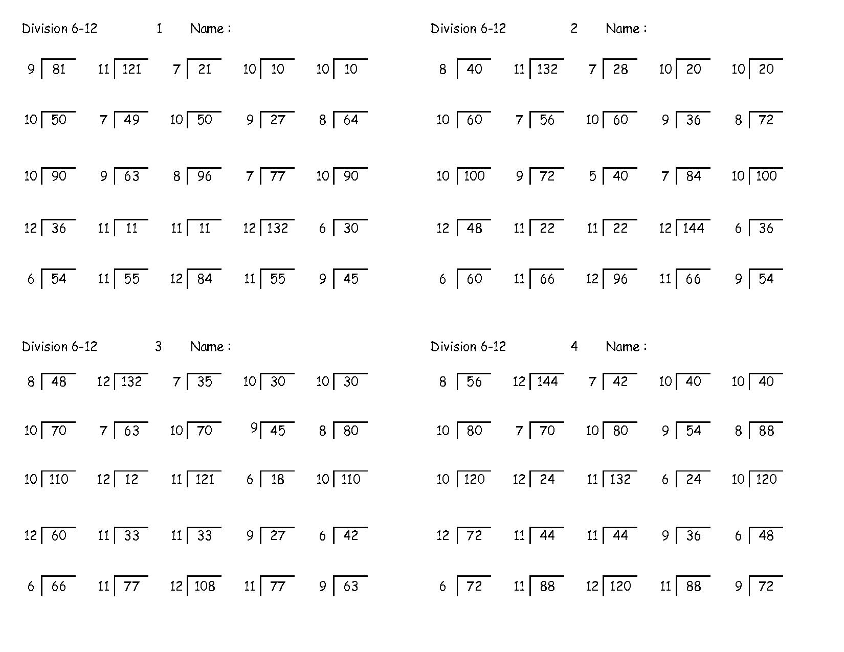 Free Online Maths Worksheets for Grade 3 and Long Division Worksheets Homeschool Pinterest Math Long