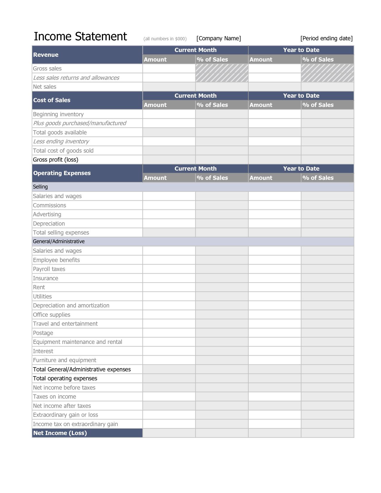 Free Personal Balance Sheet Template and Financial Statement Analysis Spreadsheet Laobingkaisuo