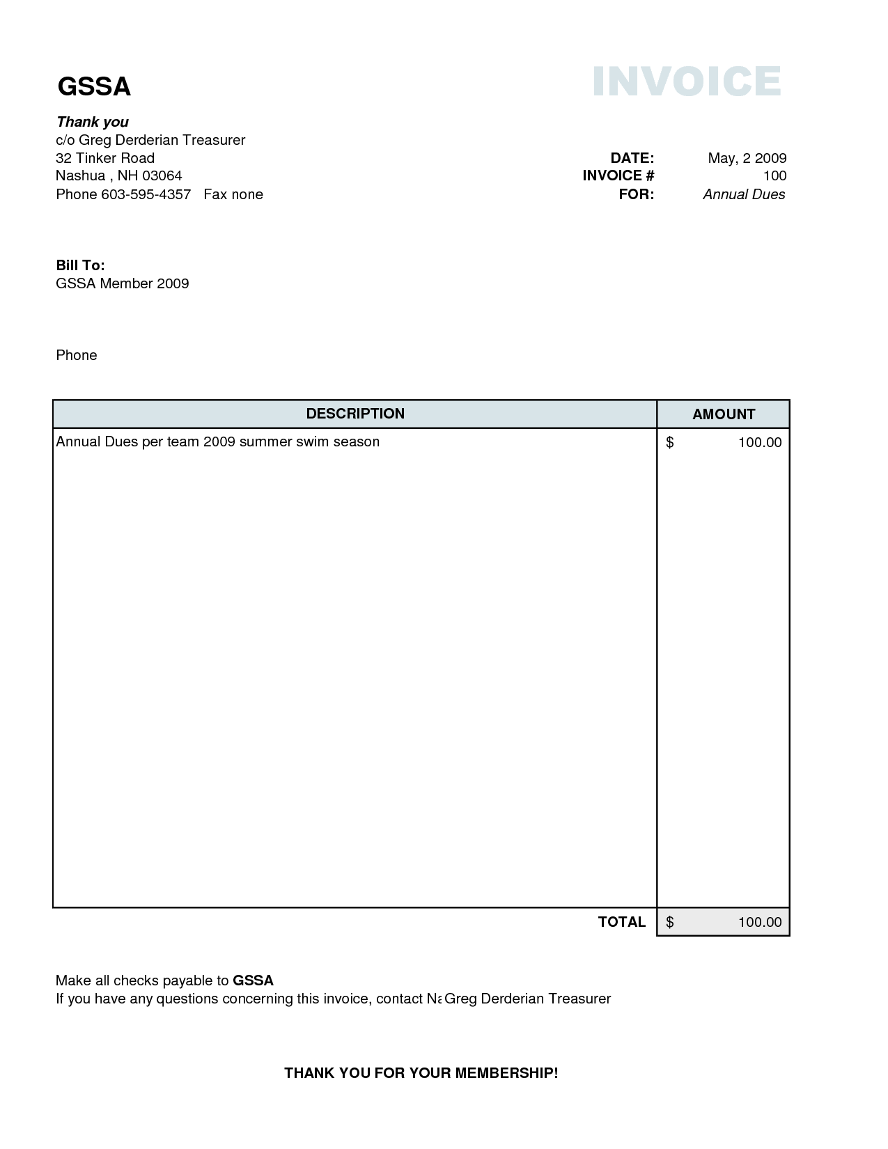 Free Samples Of Invoices and Sample Invoice Template Free Free Business Template