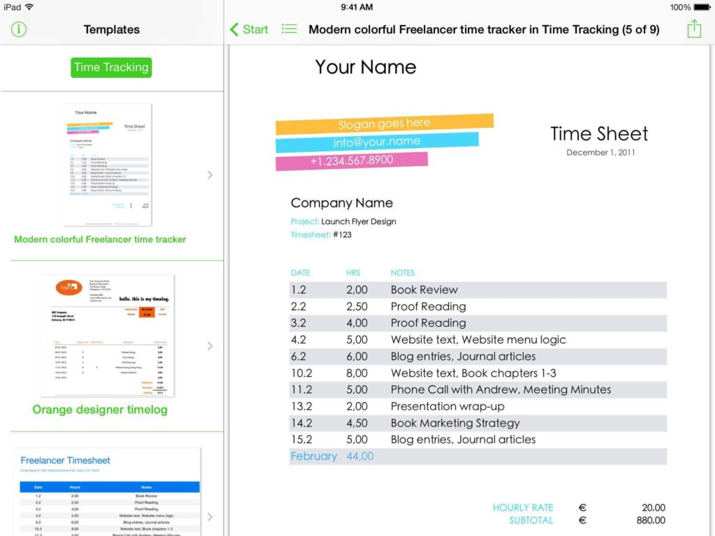 Free Spreadsheets for Mac and Templates for Excel for Ipad iPhone and iPod touch Made for Use