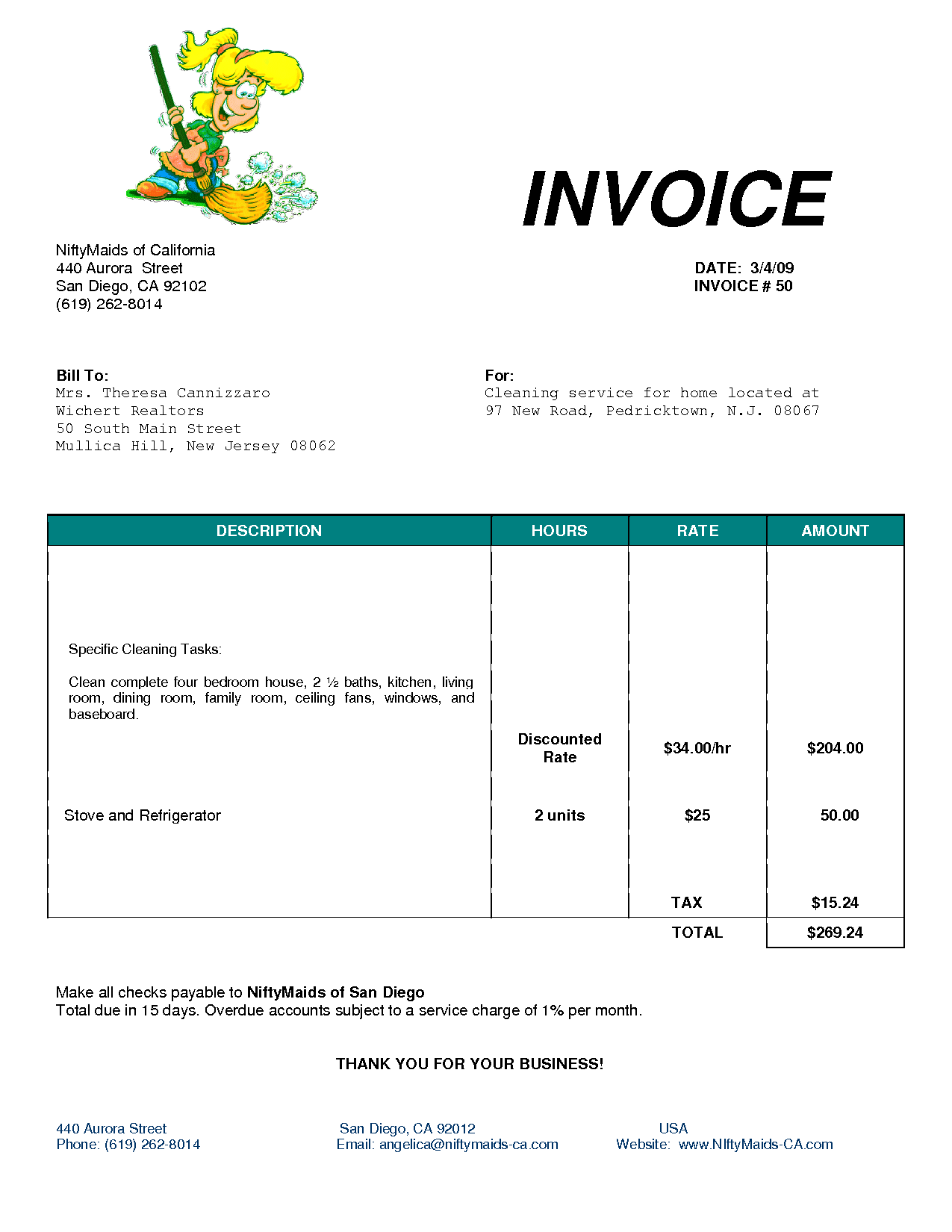 Free Utility Bill Template and Cleaning Invoice Template Uk Invoice Example