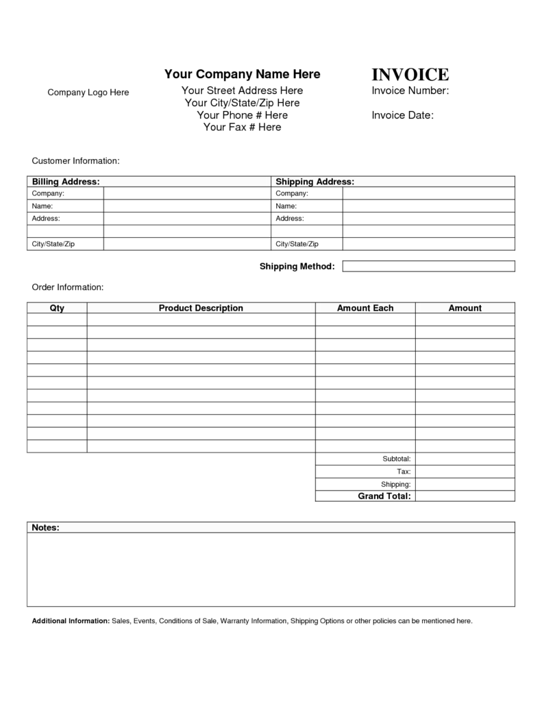 Freight Invoice Sample and Business Invoice Template Example Masir