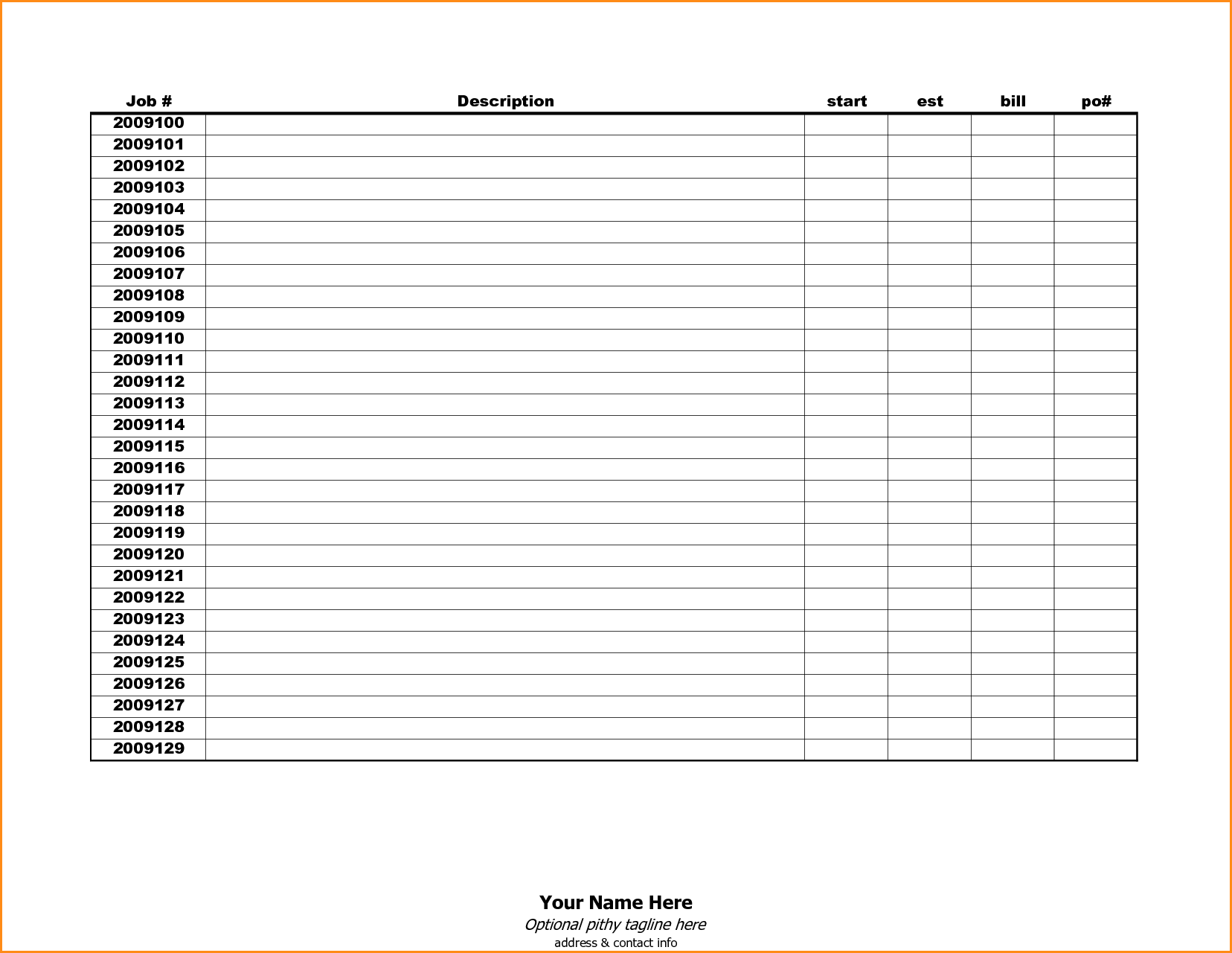 Funeral Bill Template and 100 Po Excel Template Export Purchase order Data to Ms Excel
