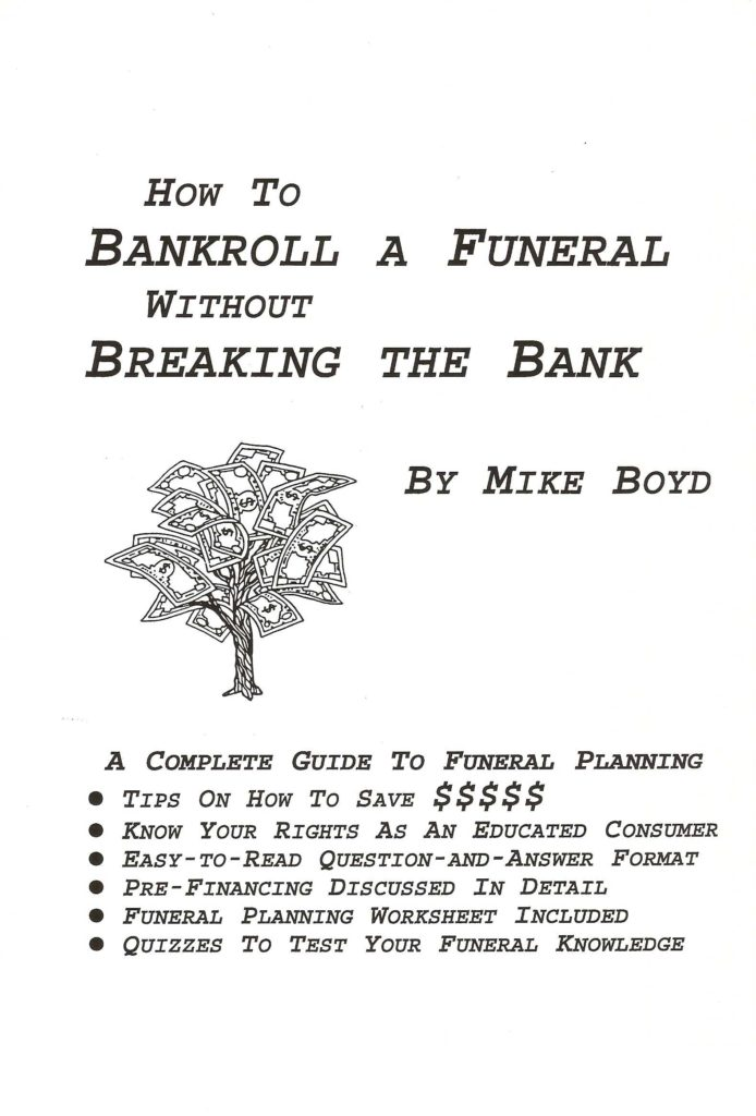 Funeral Planning Worksheet and Planning Workbook ask the Funeral Expert
