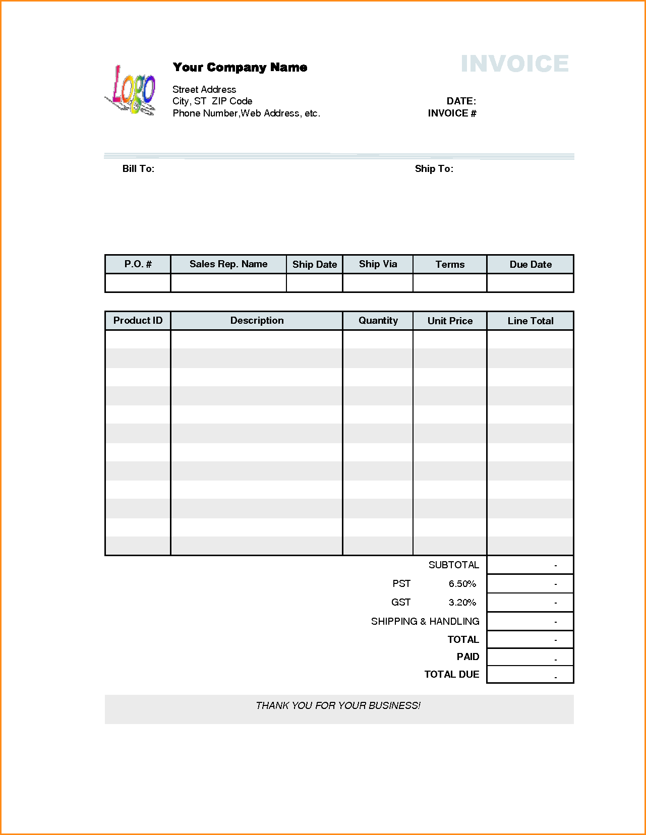 Handwritten Invoice Template and 12 Business Receipt Template Invoice Template